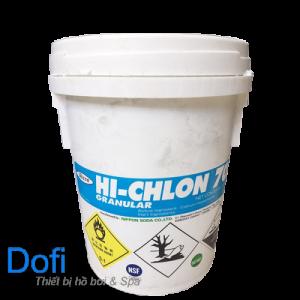 Hóa chất Clorin 70% Nippon 45kg