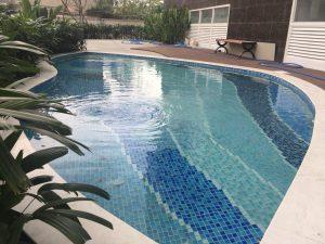 Các mẫu gạch mosaic thường dùng cho hồ bơi