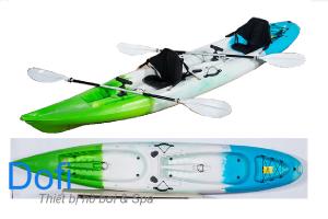 Thuyền Kayak hai chỗ ngồi trên