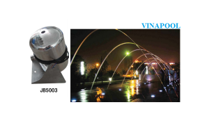 Đầu Phun Nước JB5003